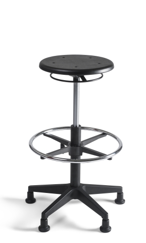 Chairsupply Taboeret hoog, PU nylon