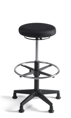 Chairsupply Taboeret hoog, stof nylon