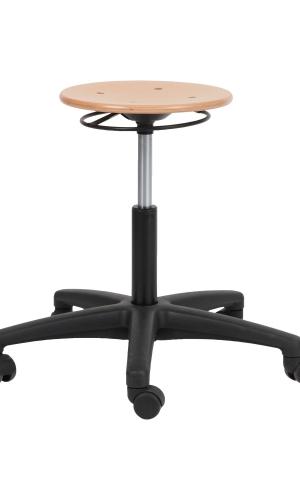 Sit-On Tabouret Werkstoel, hout